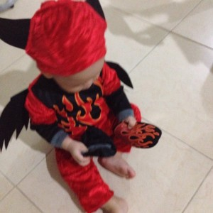 All Saints Day – Our Fireball and his Namesake