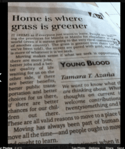 Youngblood on Inquirer