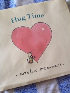 """Hug Time"" by Patrick Mc Donnell"